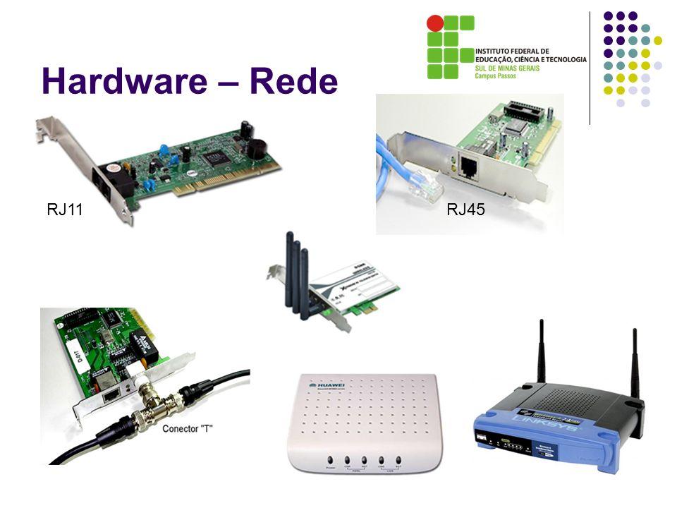 Hardware – Rede RJ11 RJ45
