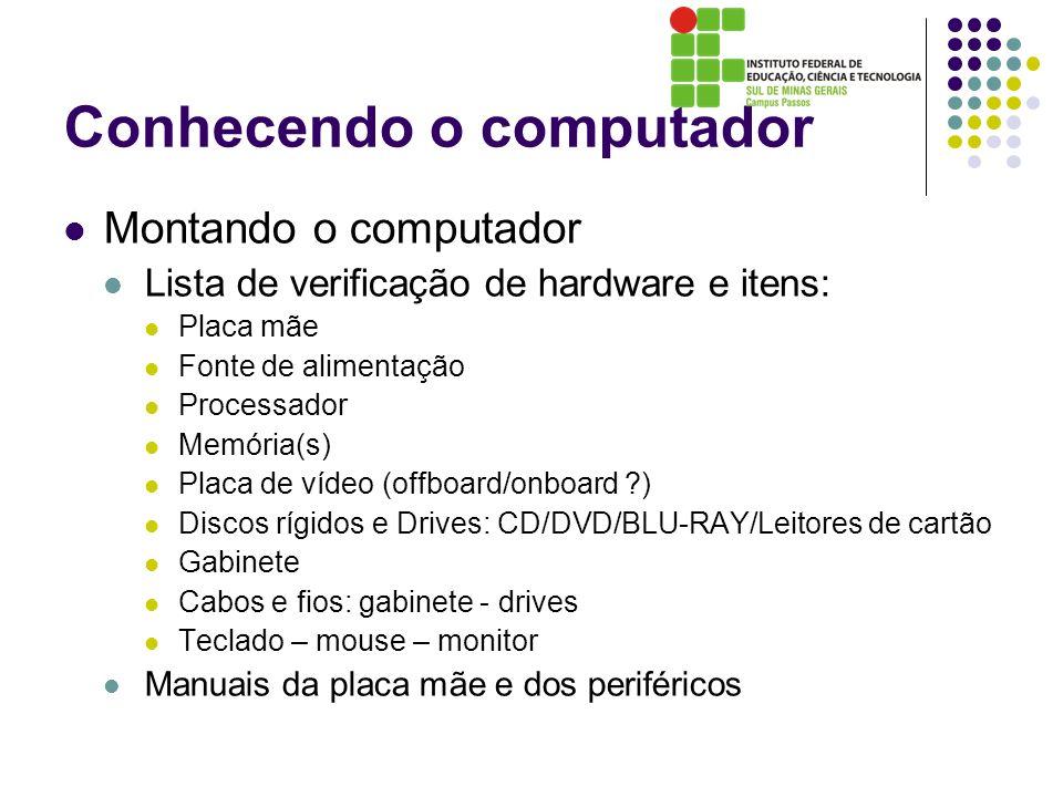Conhecendo o computador
