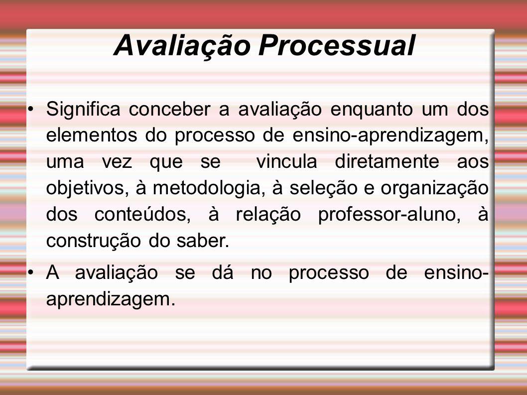 Avaliação Processual