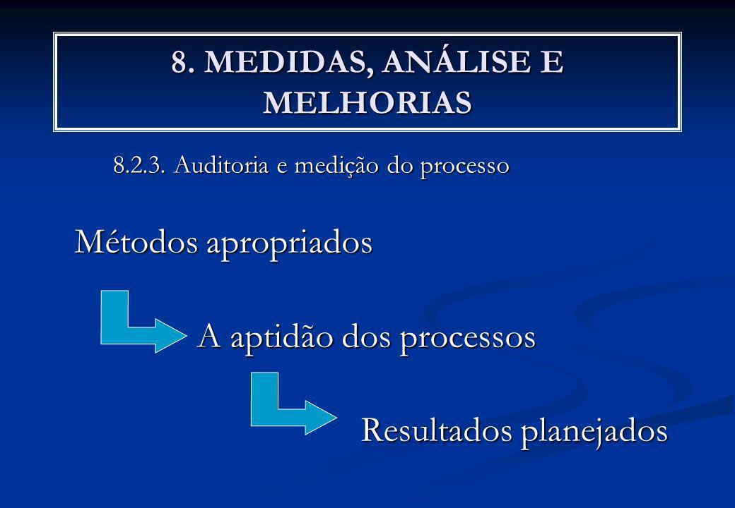 8. MEDIDAS, ANÁLISE E MELHORIAS