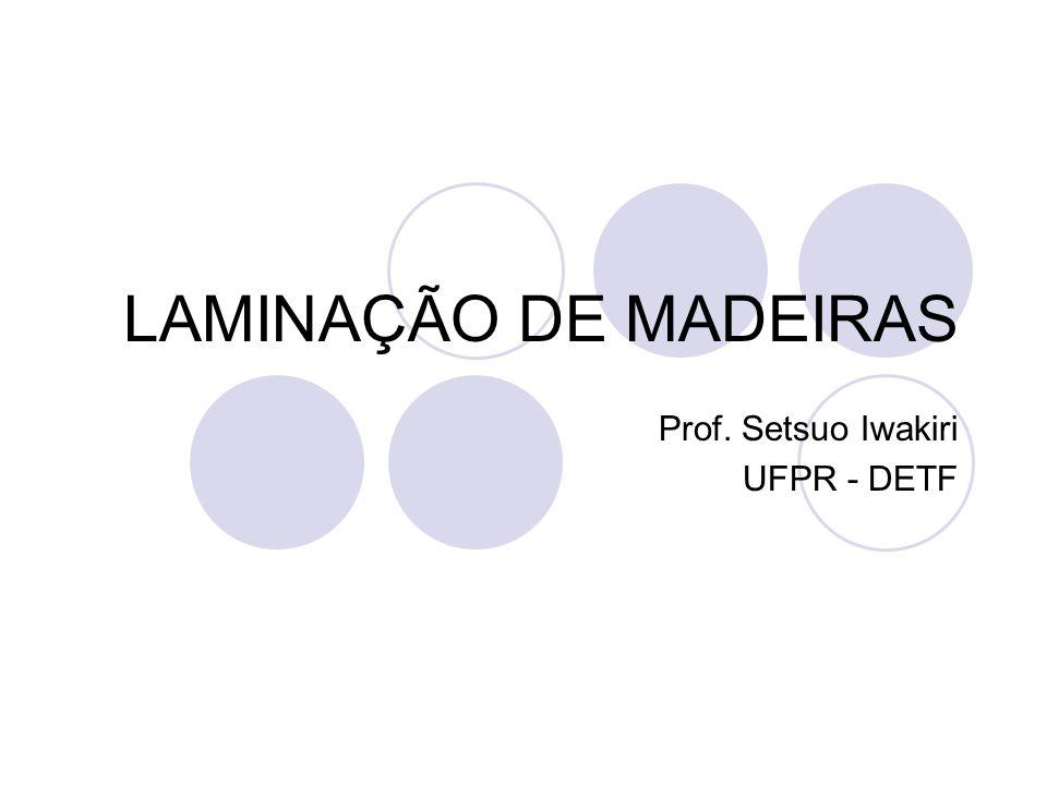 Prof. Setsuo Iwakiri UFPR - DETF