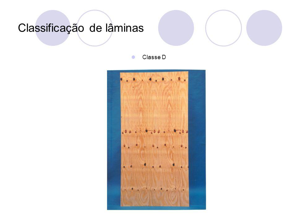 Classificação de lâminas