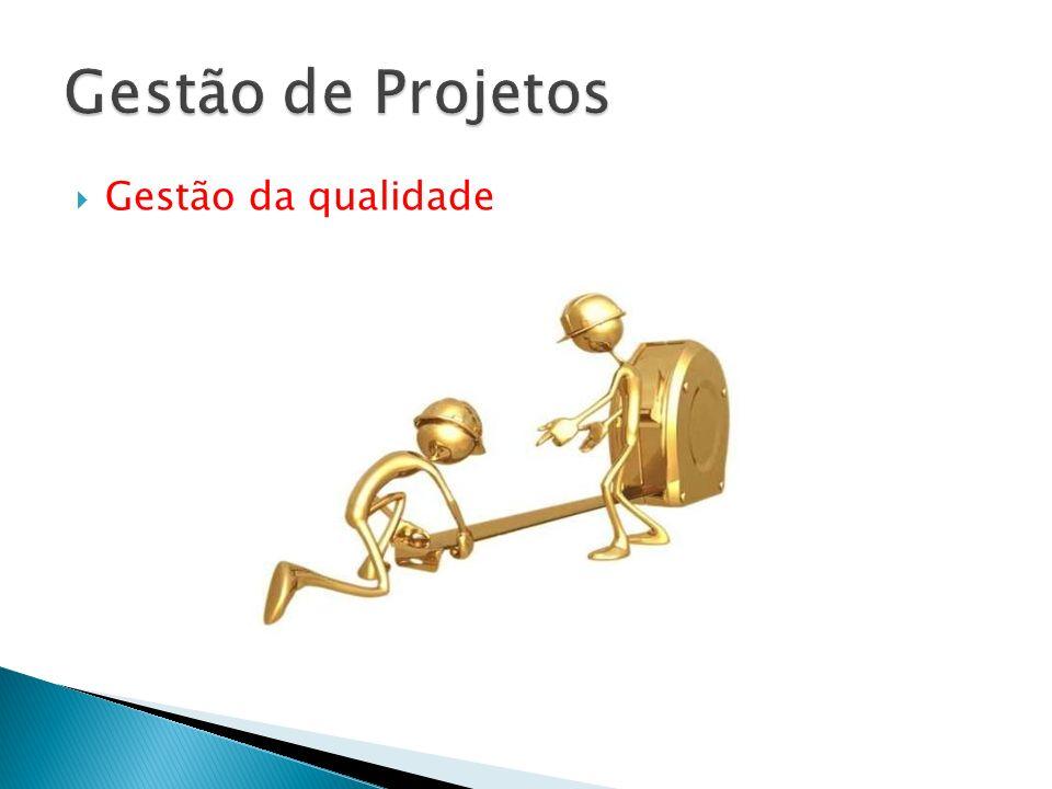 Gestão de Projetos Gestão da qualidade