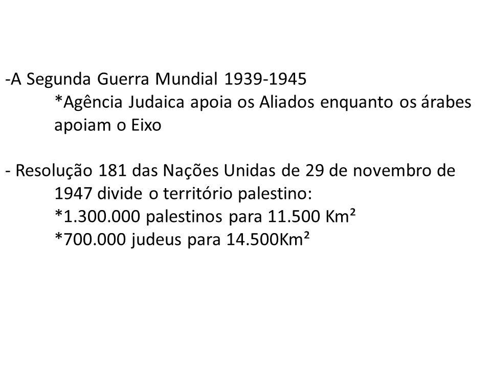 -A Segunda Guerra Mundial 1939-1945