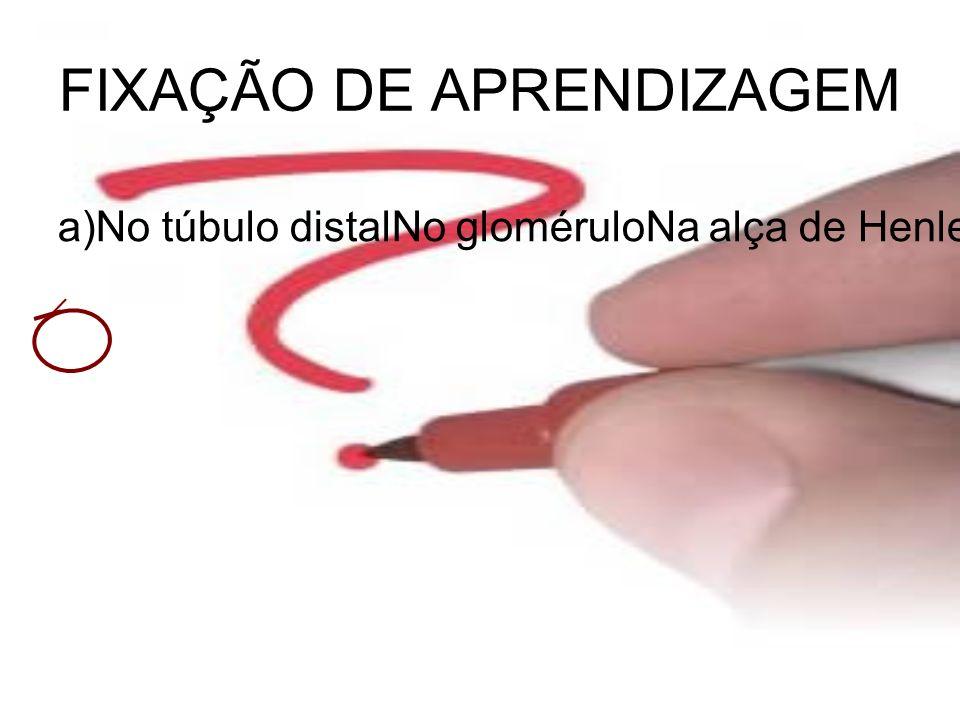 FIXAÇÃO DE APRENDIZAGEM