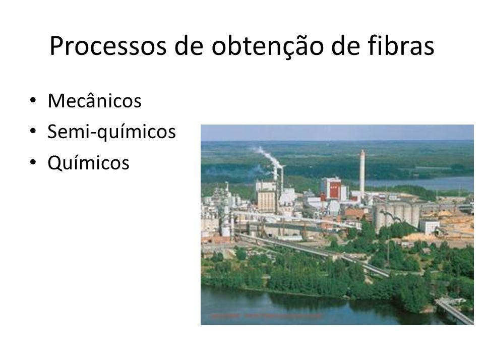 Processos de obtenção de fibras