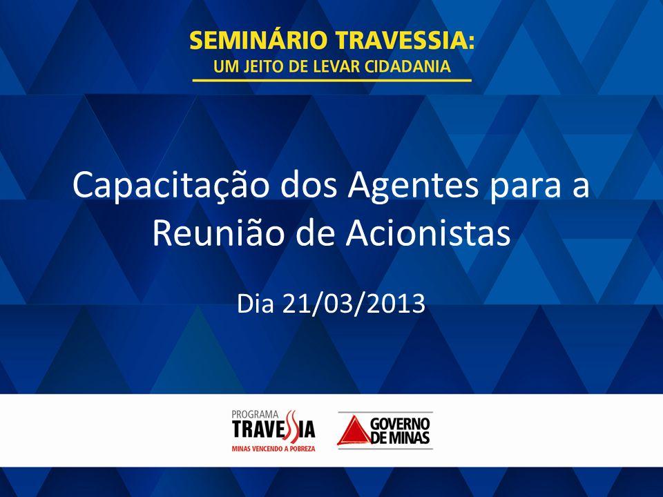 Capacitação dos Agentes para a Reunião de Acionistas