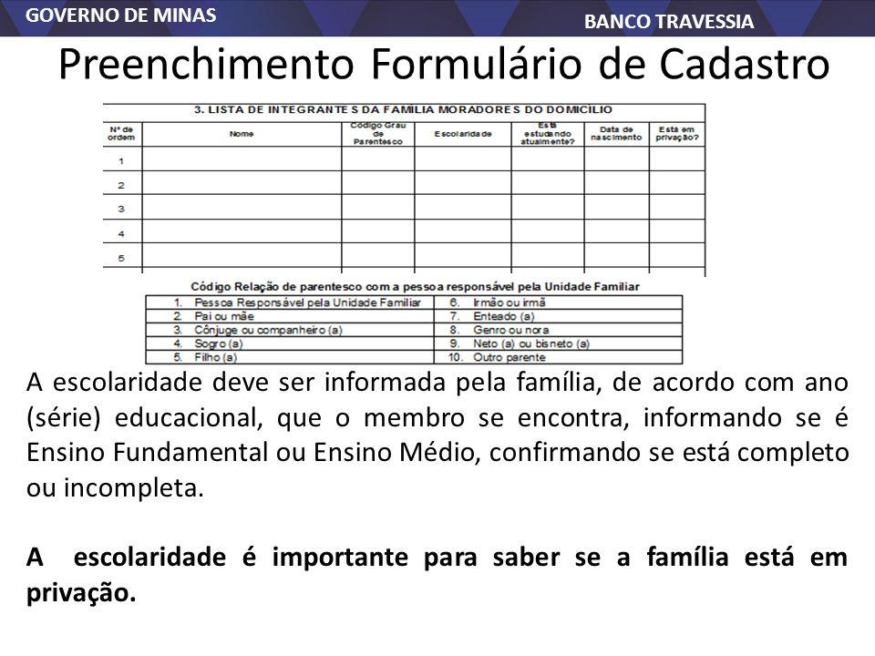 Preenchimento Formulário de Cadastro