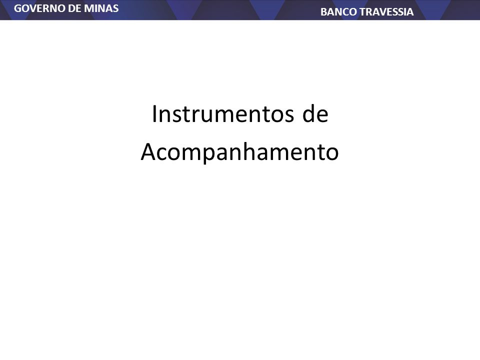 Instrumentos de Acompanhamento