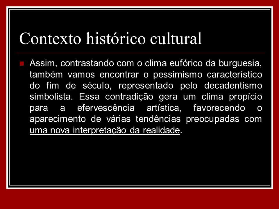 Contexto histórico cultural
