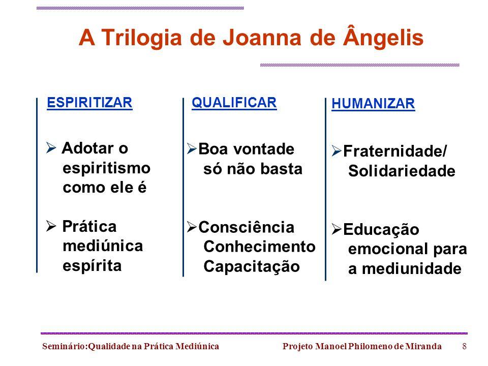 A Trilogia de Joanna de Ângelis