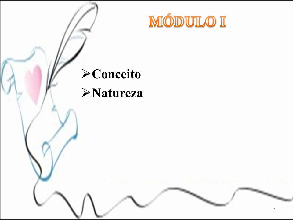 MÓDULO I Conceito Natureza