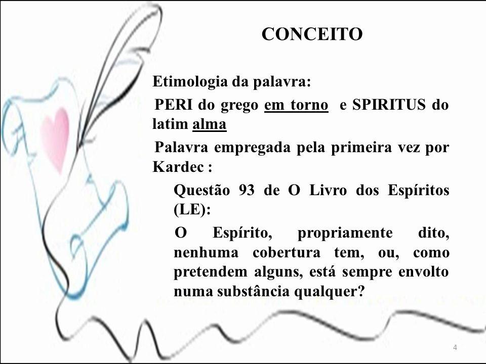 CONCEITO Etimologia da palavra: