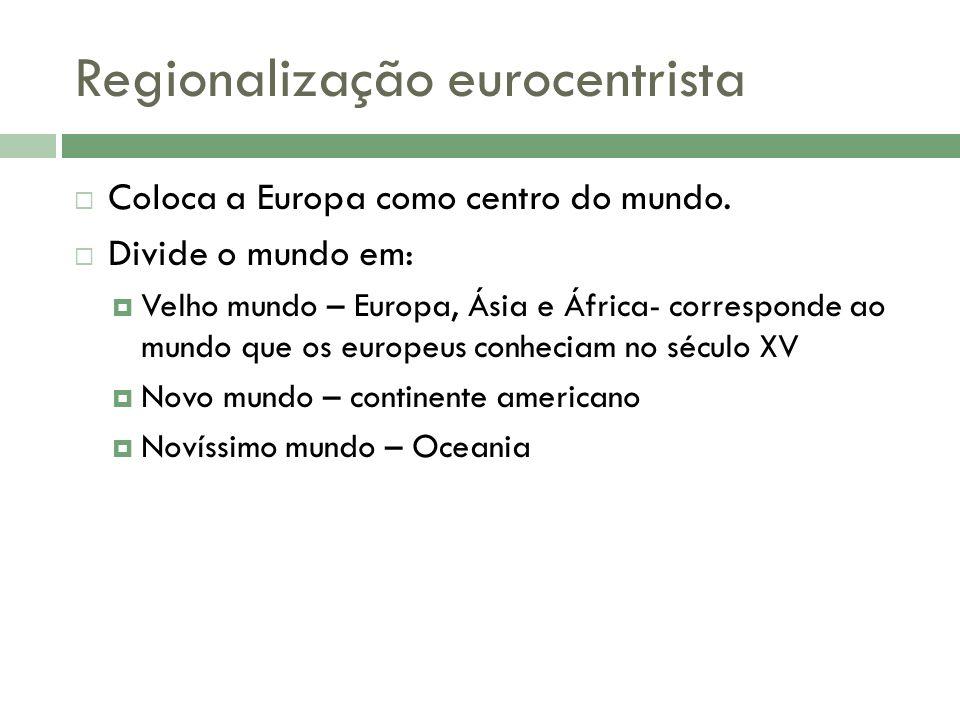Regionalização eurocentrista