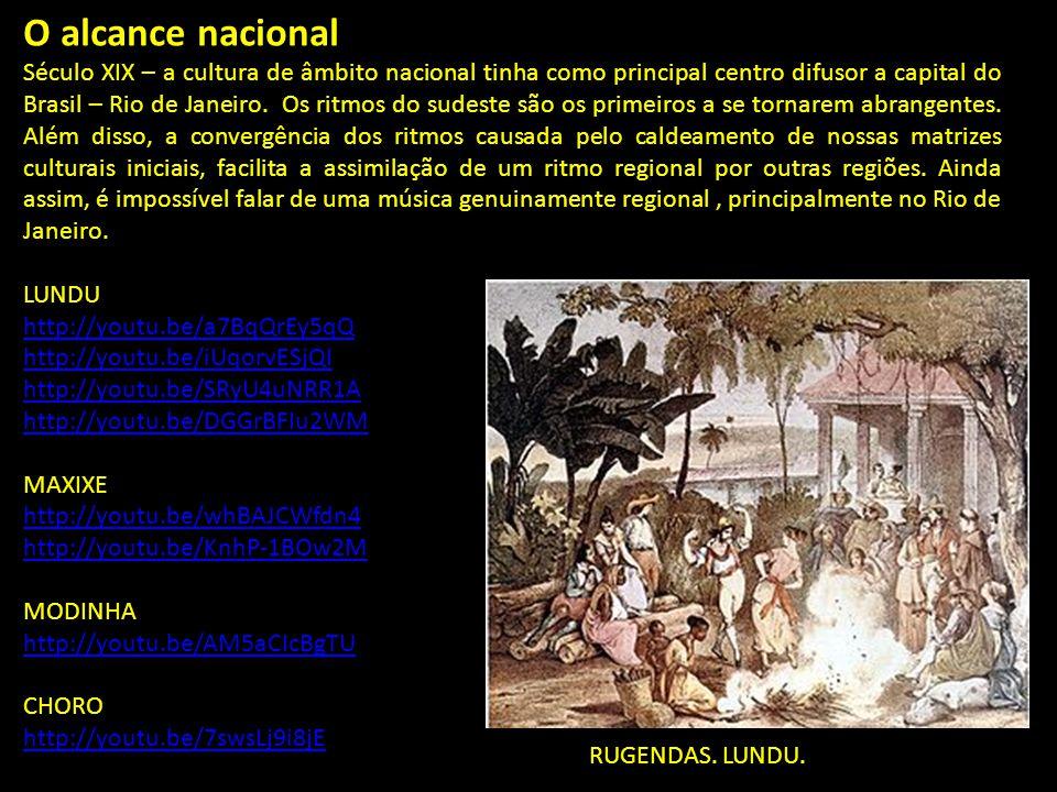 O alcance nacional