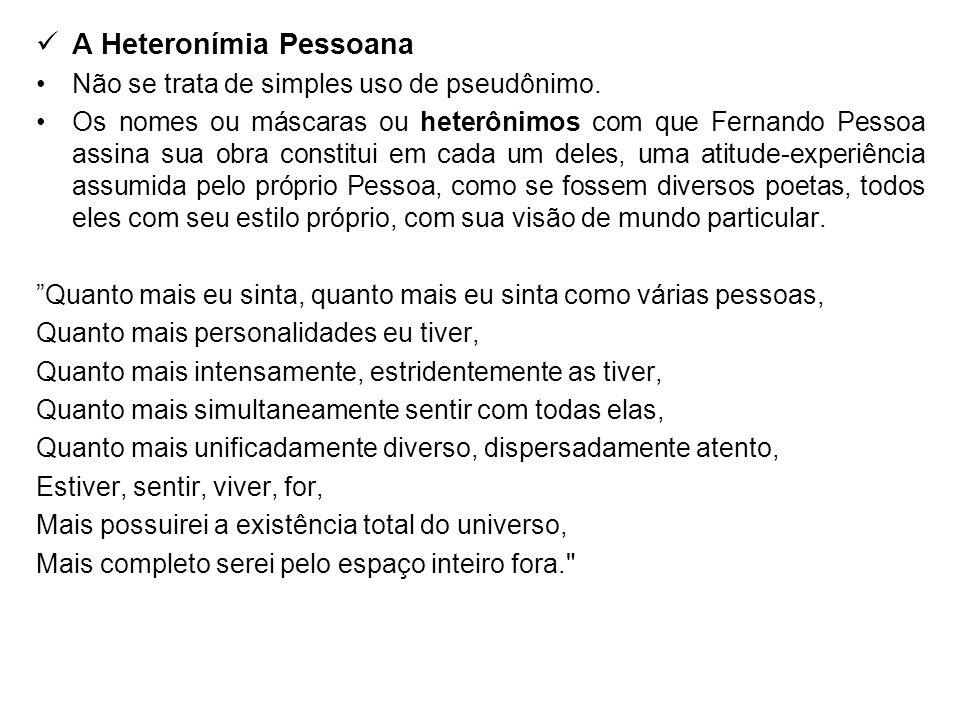 A Heteronímia Pessoana