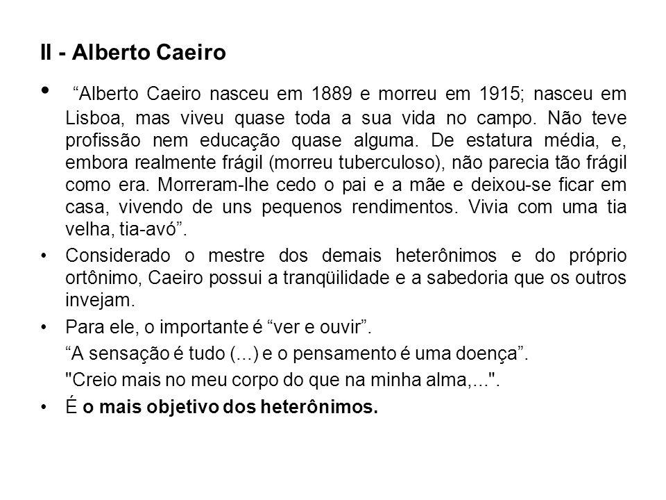 II - Alberto Caeiro