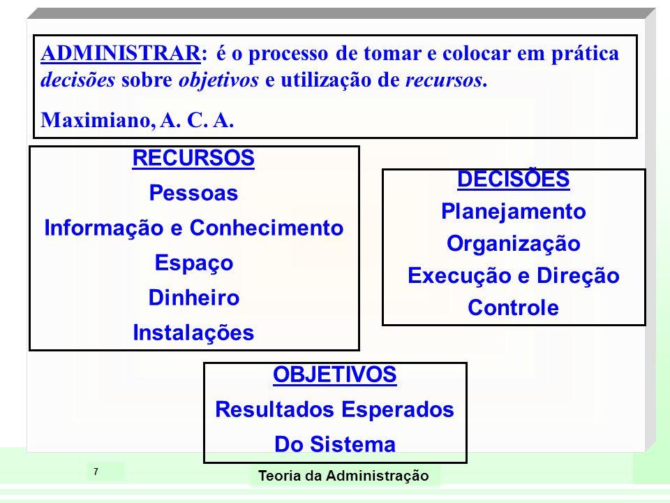 Informação e Conhecimento