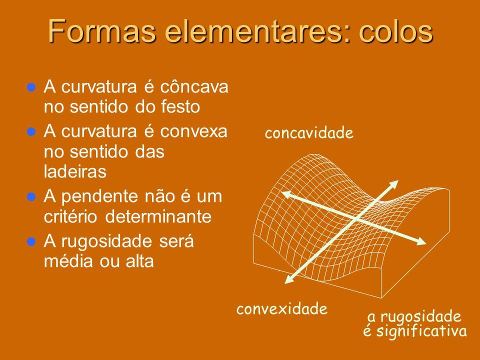 Formas elementares: colos