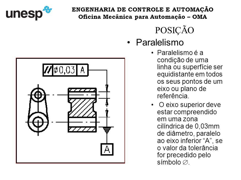 ENGENHARIA DE CONTROLE E AUTOMAÇÃO Oficina Mecânica para Automação – OMA