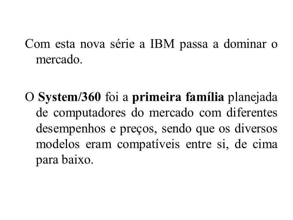 Com esta nova série a IBM passa a dominar o mercado.