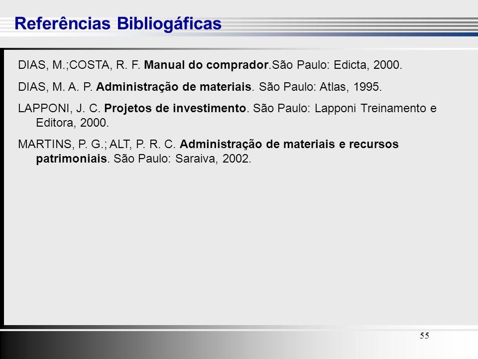 Referências Bibliogáficas