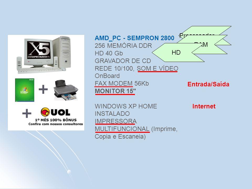Processador AMD_PC - SEMPRON 2800.