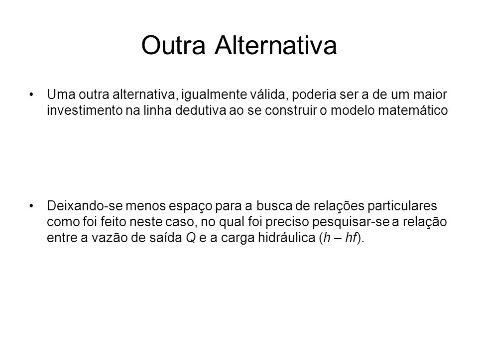 Outra Alternativa