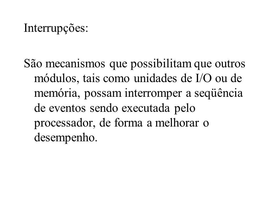 Interrupções: