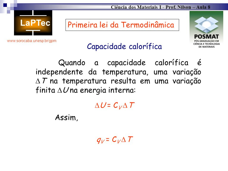 Capacidade calorífica