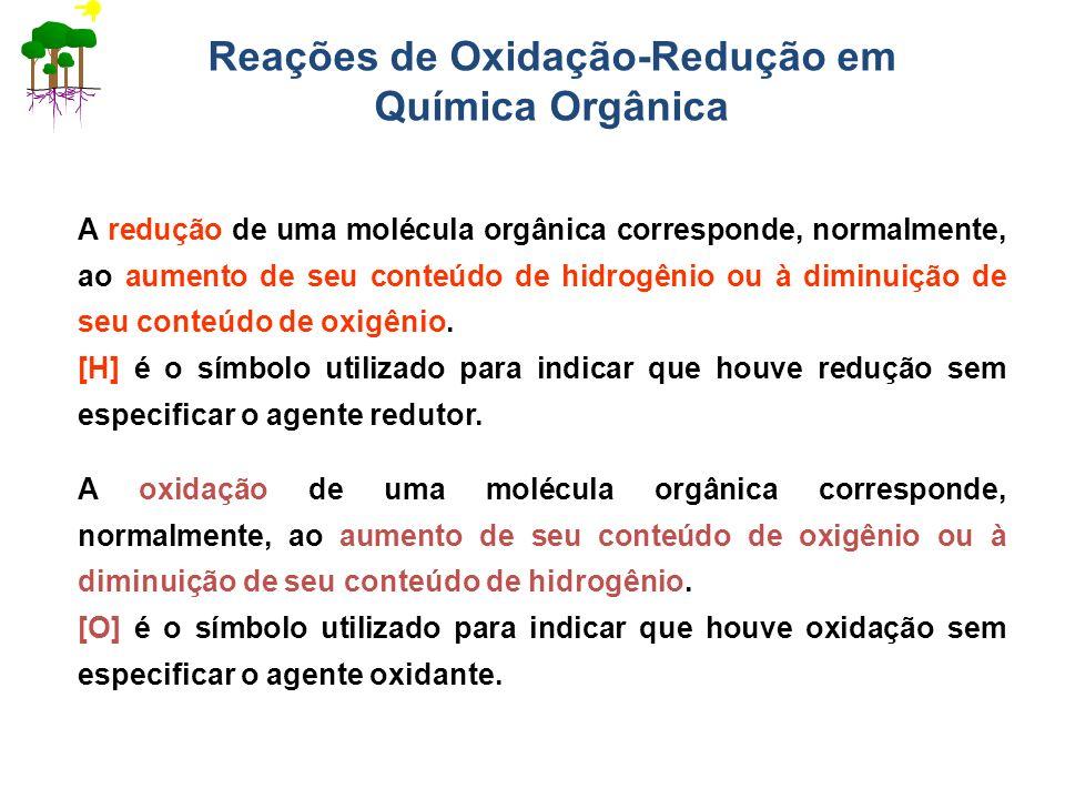 Reações de Oxidação-Redução em Química Orgânica