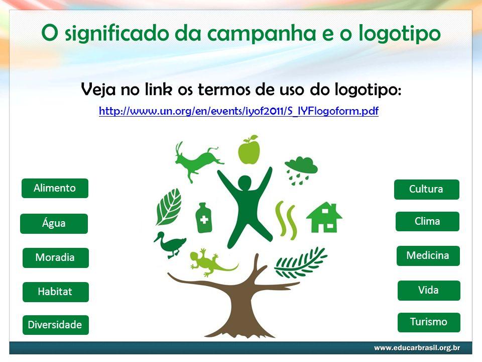 O significado da campanha e o logotipo