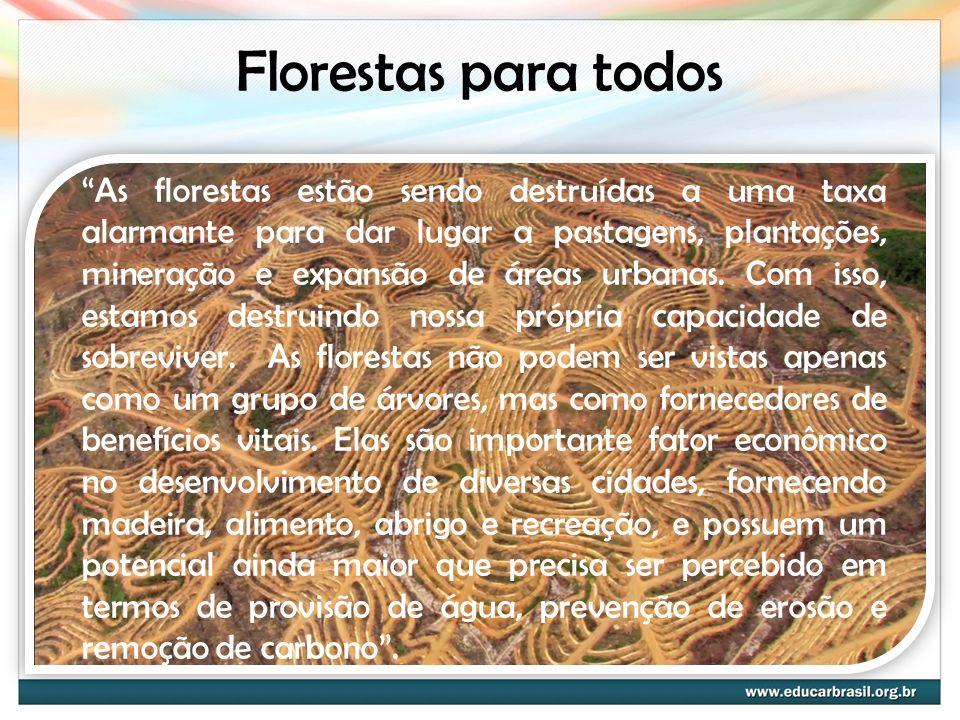 Florestas para todos