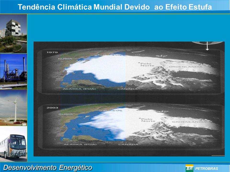 Tendência Climática Mundial Devido ao Efeito Estufa