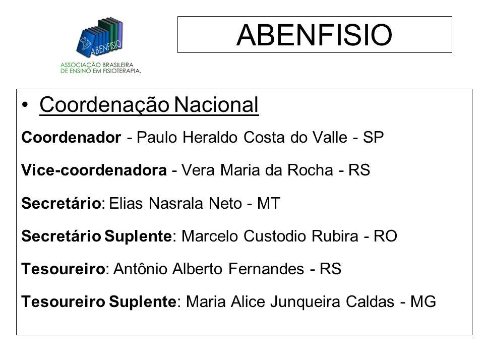 ABENFISIO Coordenação Nacional