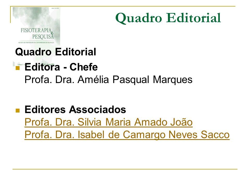 Quadro Editorial Quadro Editorial
