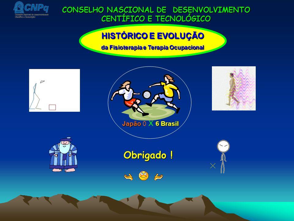 Obrigado ! HISTÓRICO E EVOLUÇÃO CONSELHO NASCIONAL DE DESENVOLVIMENTO