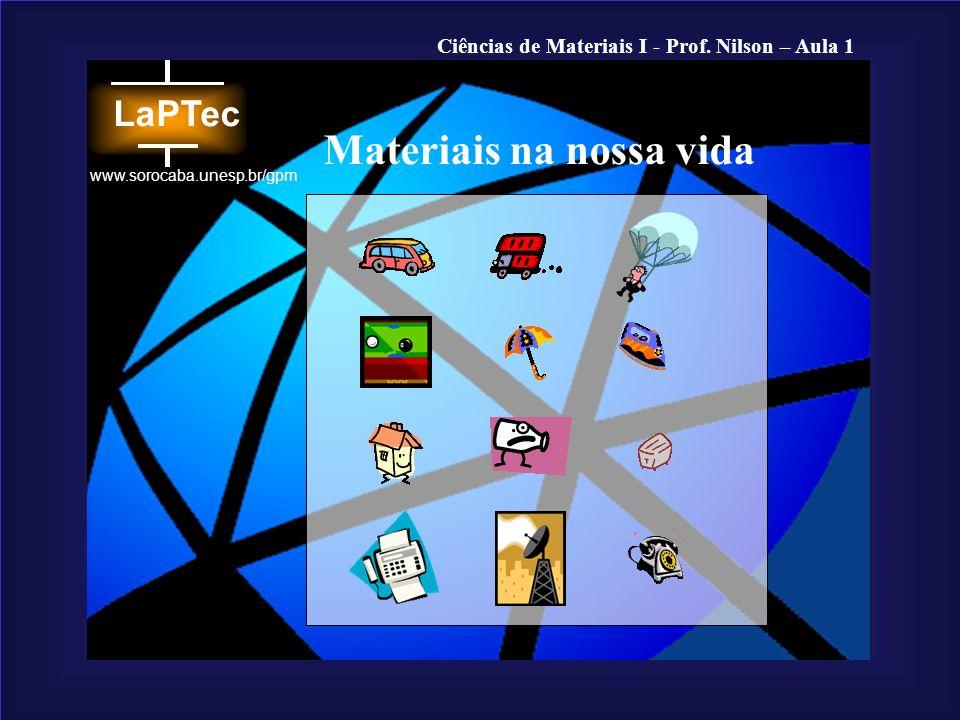 Materiais na nossa vida
