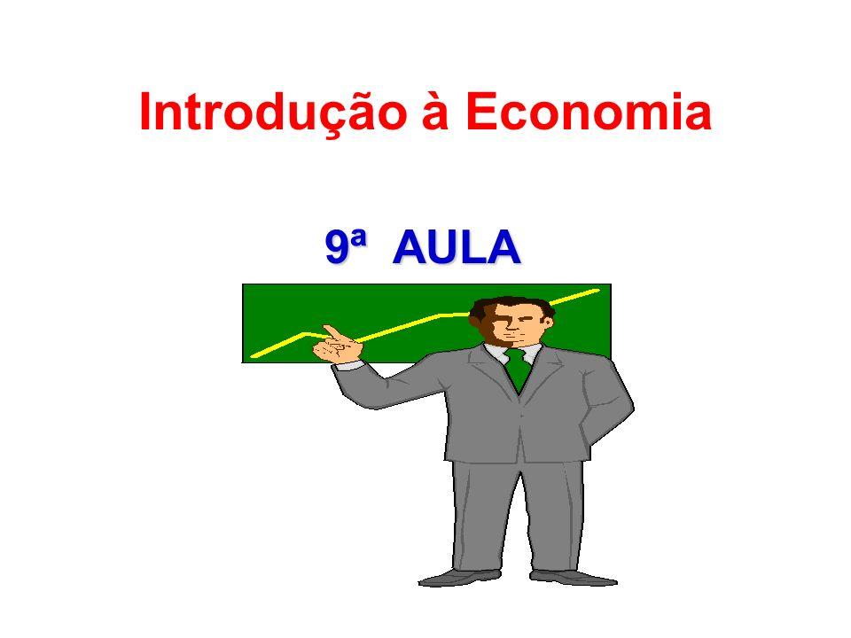 Introdução à Economia 9ª AULA