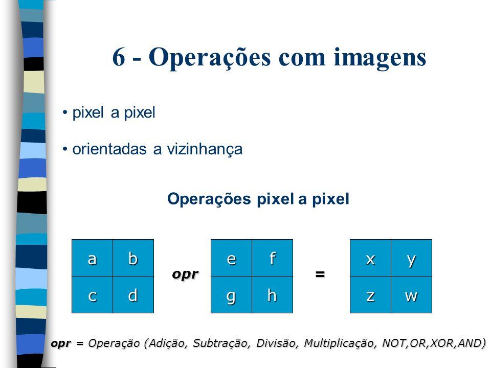 6 - Operações com imagens