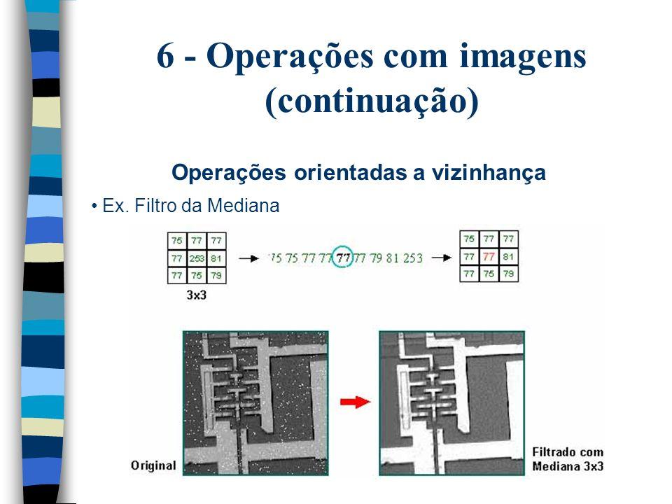 6 - Operações com imagens (continuação)