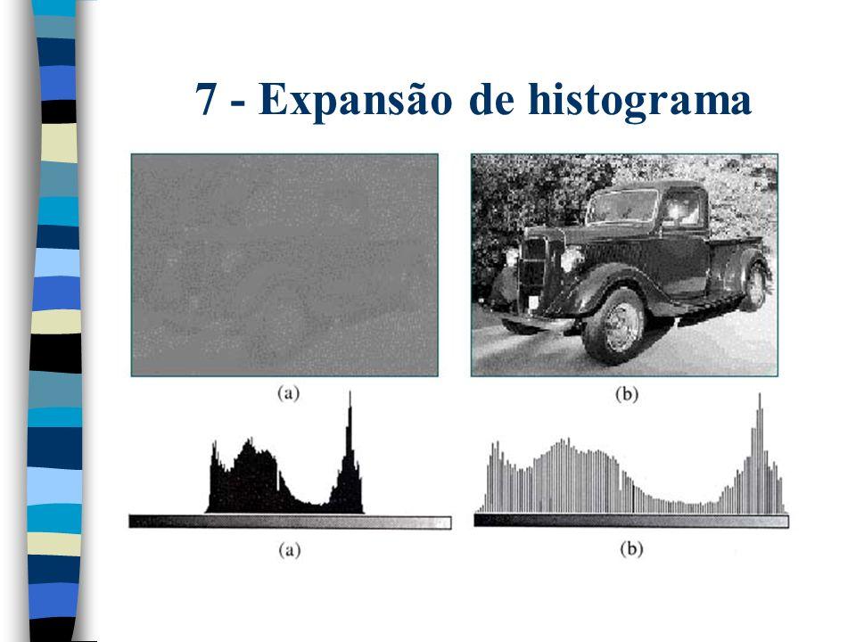 7 - Expansão de histograma