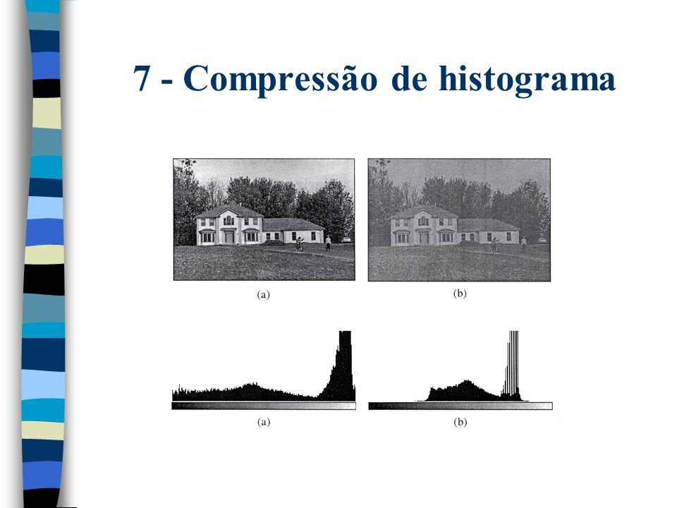 7 - Compressão de histograma