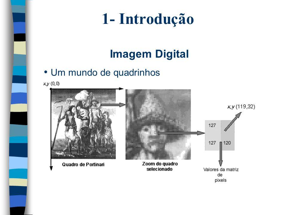 1- Introdução Imagem Digital Um mundo de quadrinhos