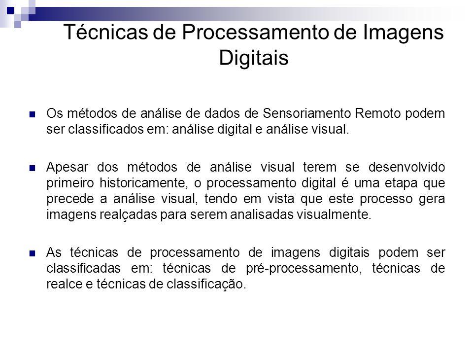Técnicas de Processamento de Imagens Digitais