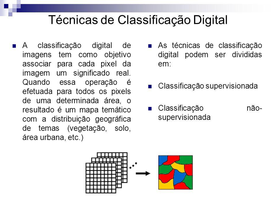 Técnicas de Classificação Digital