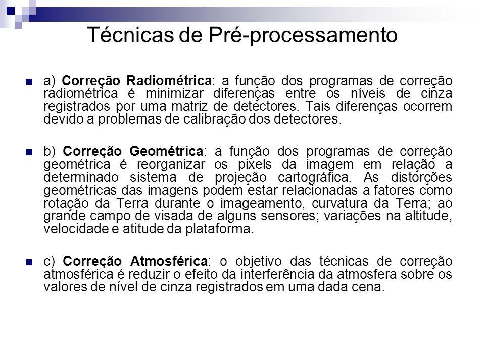 Técnicas de Pré-processamento