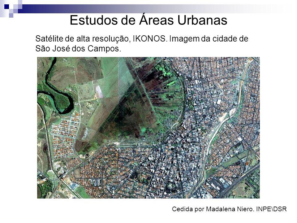 Estudos de Áreas Urbanas