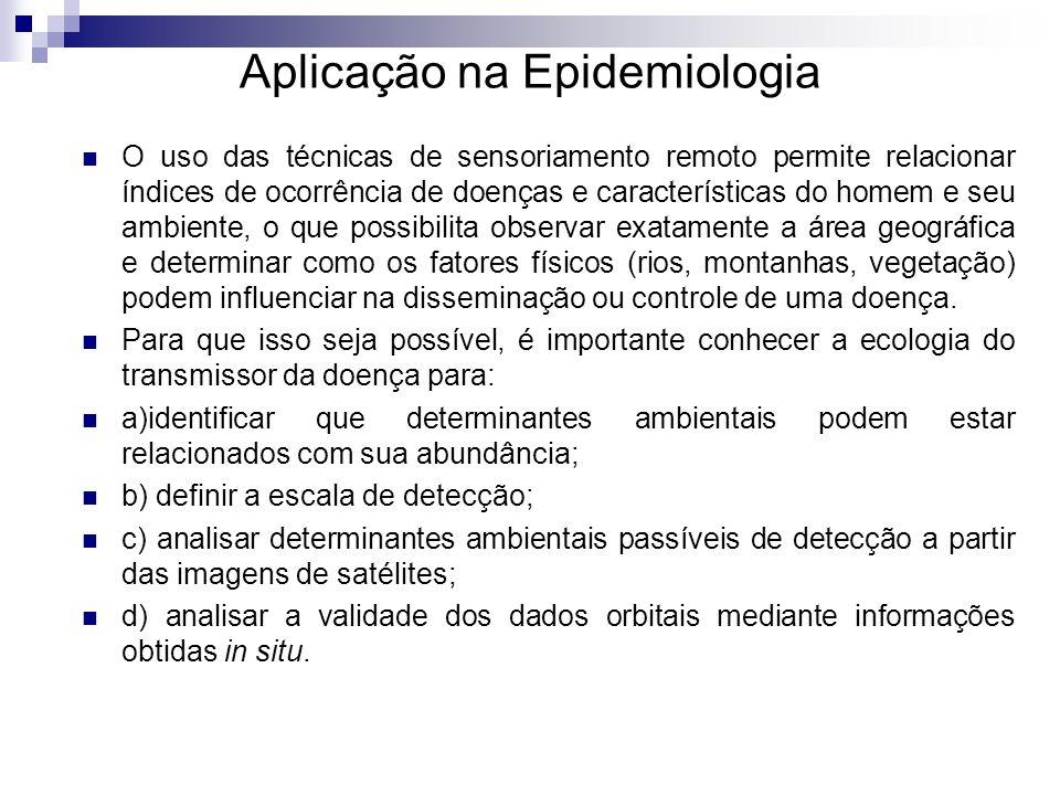 Aplicação na Epidemiologia