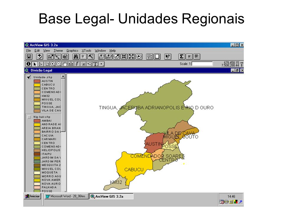 Base Legal- Unidades Regionais